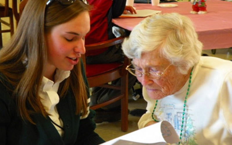 Journaling program links young and old, and sisters
