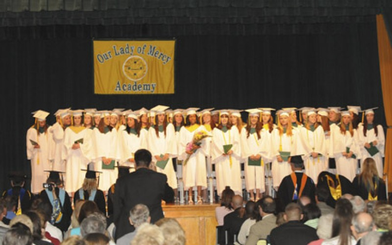 Our Lady of Mercy Academy Class of 2009
