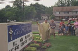 First Mass celebrated at new parish