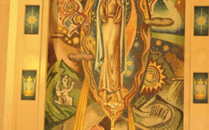 Shore parishes celebrate feast of the Assumption