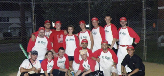 Catholics on top in interdenominational softball competition