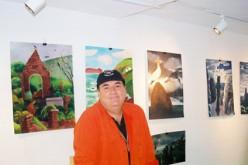 Artist in residence in Camden