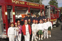 Fire Company visits Good Shepherd in Collingswood