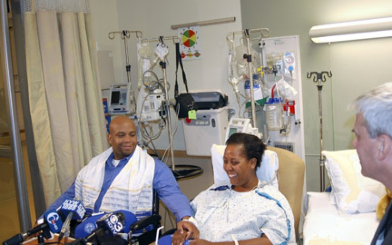 Man helps wife by donating kidney to another woman