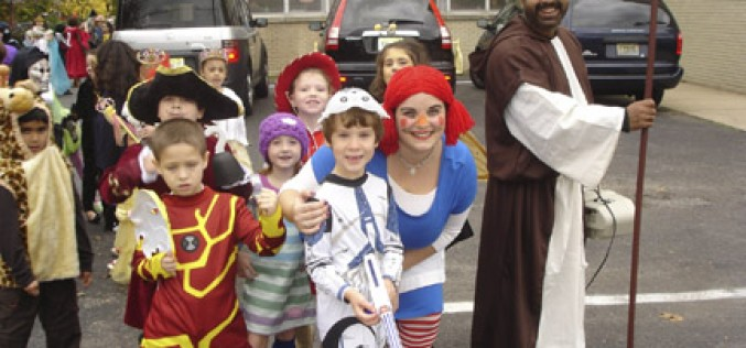 Saints march with pirates and princesses