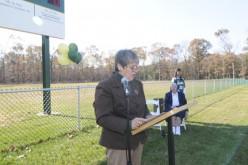 OLOM Academy dedicates soccer/lacrosse field