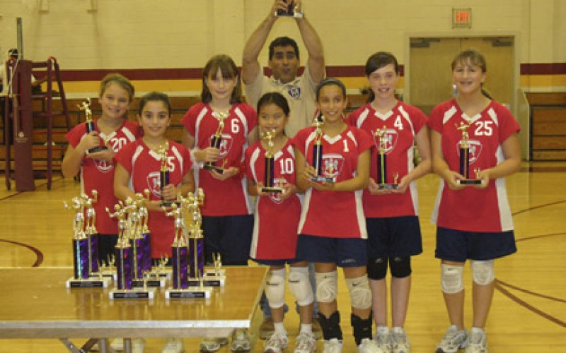 St. Michael the Archangel JV volleyball champs