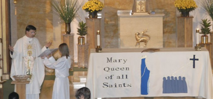 Inaugural Mass of Mary, Queen of All Saints
