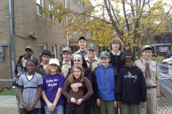 Sister Grace Nolan and the Boy Scouts