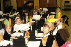 Students re-enact first Thanksgiving