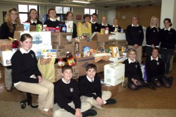 WCHS makes donations to food pantry