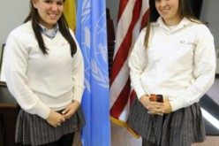 School serves as videoconference site for U.N. program