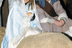 Living Nativity at Holy Family, Ventnor