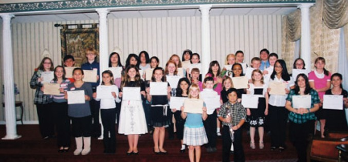 Young musicians honored at annual CMAC dinner