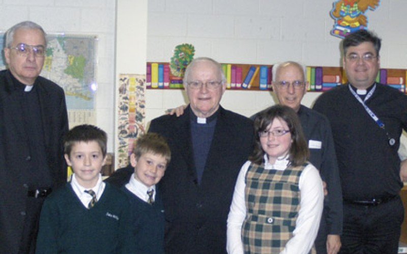 Msgr. Quinn retires after 50 years of active ministry