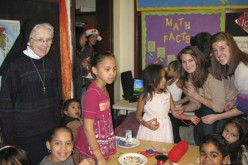 Cherry Hill youth and Camden children celebrate the holiday