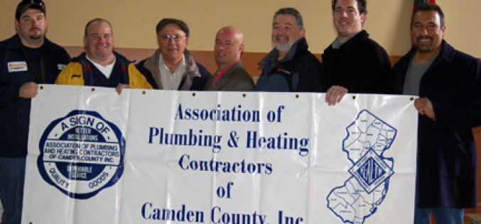 Generous flow of donations from plumbers' association