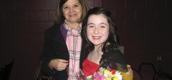 St. Mary School, student honored