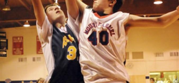 Elementary school basketball