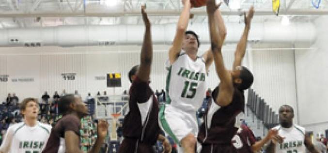 Irish take the state basketball championship