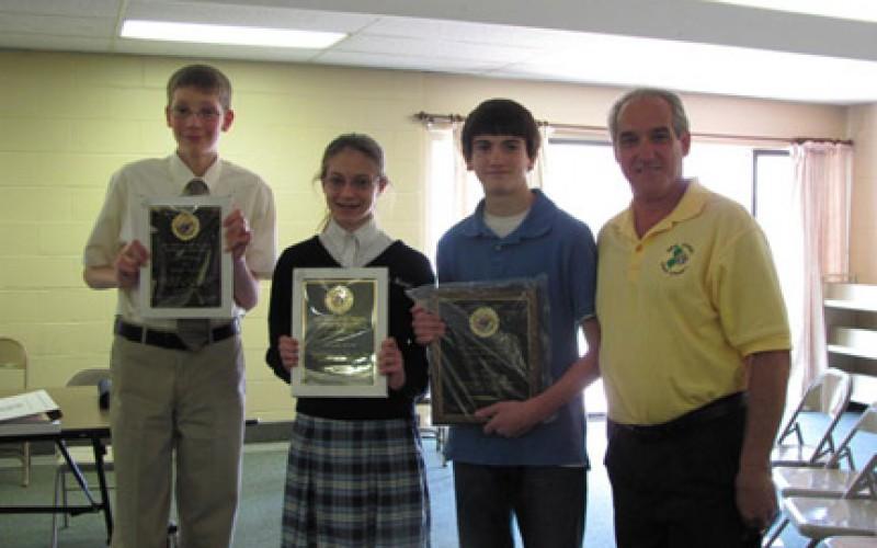 State Spelling Bee winners