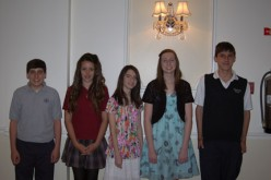 Diocesan scholarship recipients