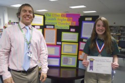 Medal of honor at Science Fair