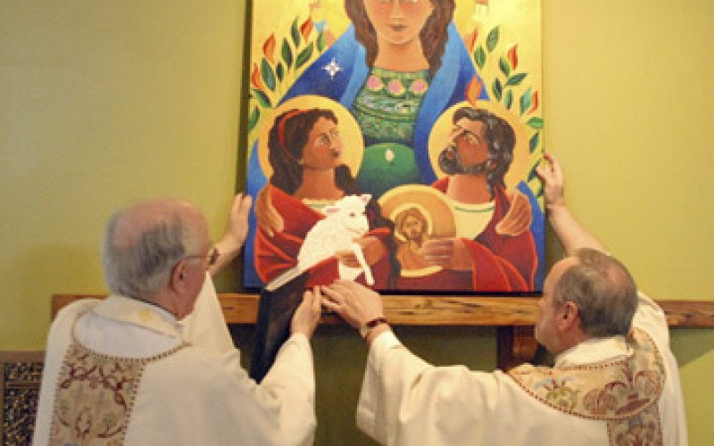 First Mass at Our Lady of Hope