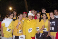 Students make a midnight run for a good cause