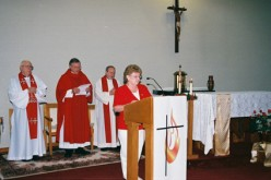 Mass of thanksgiving at St. Pius X Spiritual Life Center