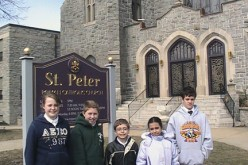 St. Peter School celebrates the Year of the Priest