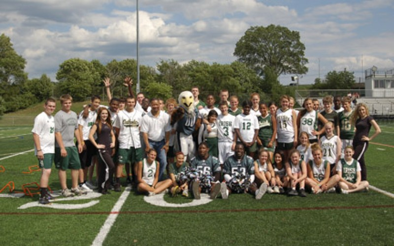 Camden Catholic receives NFL Grassroots Grant