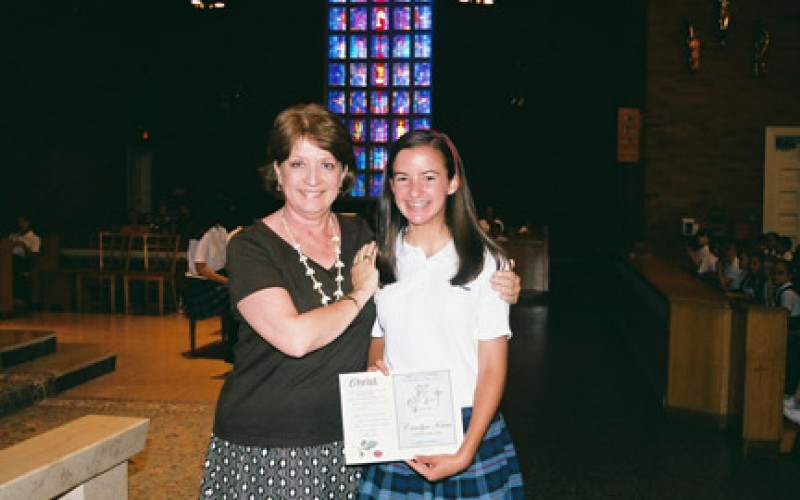 Dr. David T. Coghlan Young Catholic Leader Award winners