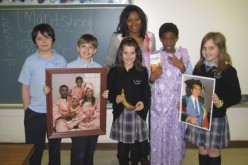 St. Mary fourth-graders get a lesson on South Africa