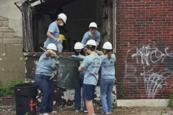 Volunteers put heart and soul into demolition