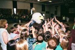 Swoop spreads his wings at Christ the King
