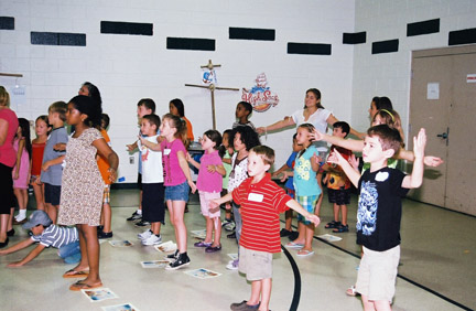 Vacation Bible School at Our Lady of Hope