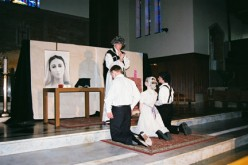 Area high school students perform play about St. John Vianney