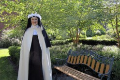 Sister Marie Therese makes her solemn profession of vows
