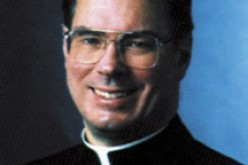 Msgr. McGrath honored by CUA Theological College