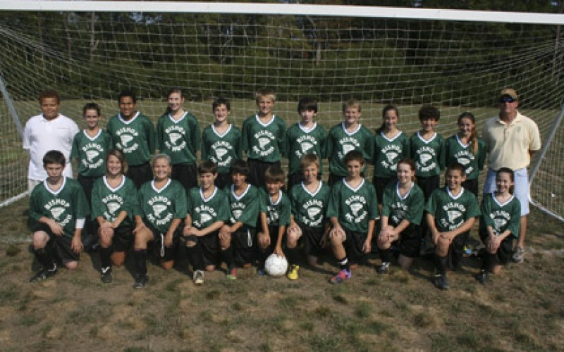 Soccer at Bishop McHugh Regional School