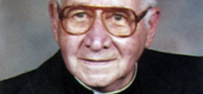 Msgr. William F. Poyatt, retired pastor, dies