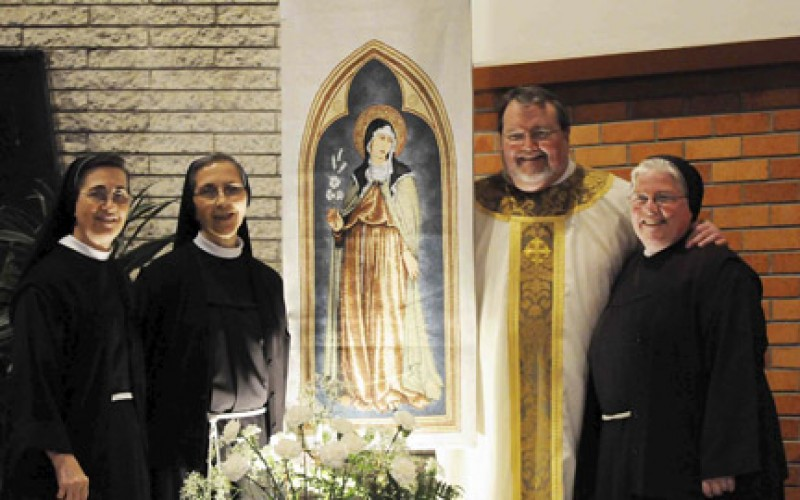 Opening liturgy celebrated at St. Clare of Assisi Parish