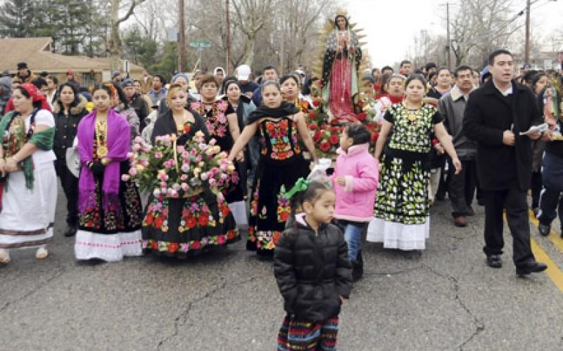 Patroness of the Americas inspires joyful worship