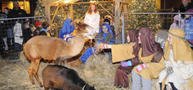 Live Nativity at Assumption, Galloway