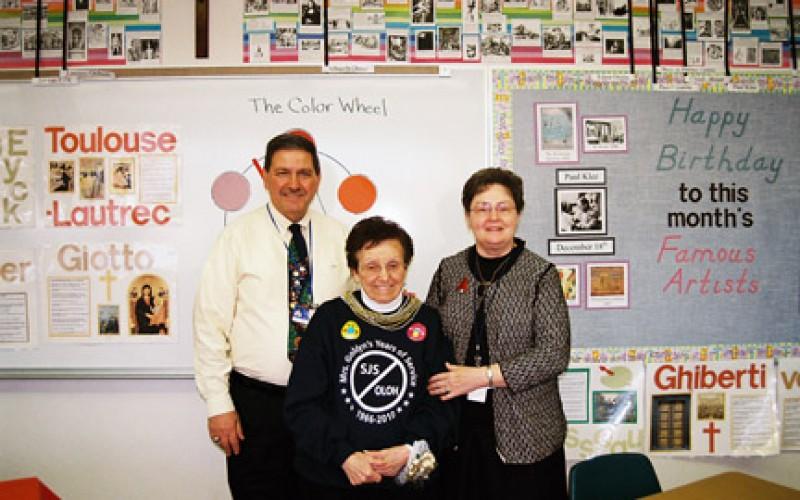 School secretary retires after 45 years