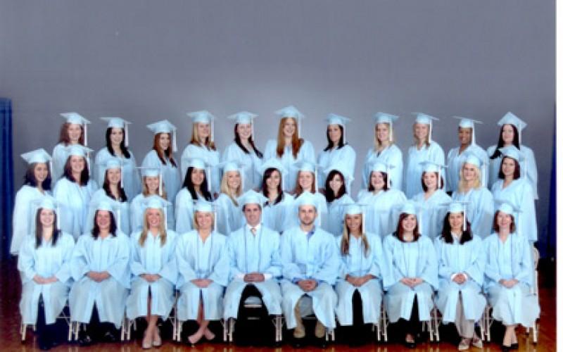 Lourdes School of Nursing graduates Class of 2010