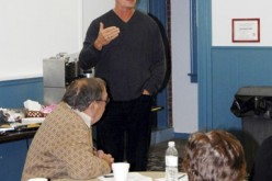 Former pitcher Dickie Noles speaks at parish workshop