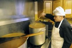Pastor's famous pasta fagioli