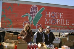 Incarnation YAM helps out with Food Bank